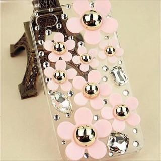 TeddyShop iPhone 6 / 6s ケース ストーン 花