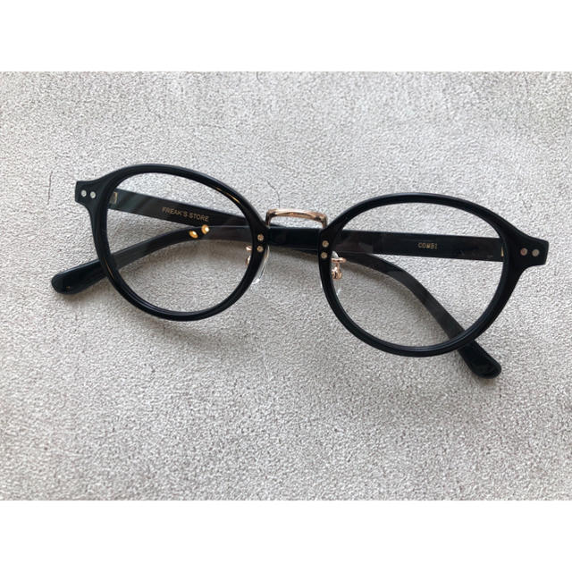 FREAK'S STORE(フリークスストア)の新品未使用 フリークスストア メガネ レディースのファッション小物(サングラス/メガネ)の商品写真