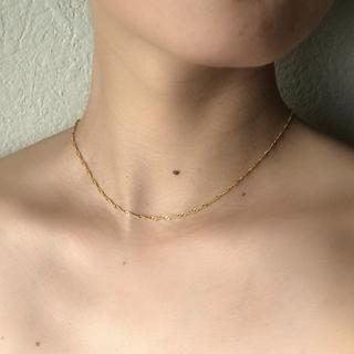 TODAYFUL - 18kgf ゴールド ネックレス チェーン チョーカー 刻印有 スネークチェーン