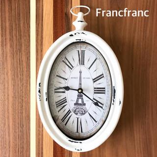"""Francfranc - Francfranc★STEEL RIM CLOCK """"VERTICAL"""""""