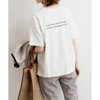 IENA - Le Petit Prince ロゴTシャツ C◆ナチュラル