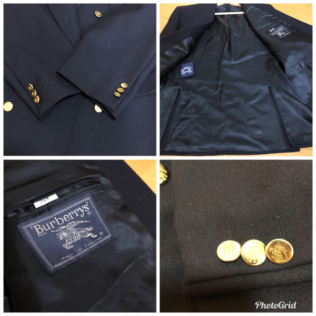BURBERRY(バーバリー)の90's⭐Vintage⭐Burberrys⭐ダブルジャケット⭐L⭐スーツ⭐ メンズのジャケット/アウター(テーラードジャケット)の商品写真