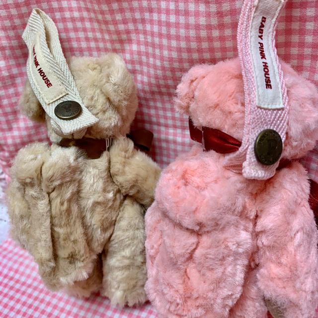 PINK HOUSE(ピンクハウス)のベビーピンクハウスペン入れ付きクマ キッズ/ベビー/マタニティのおもちゃ(ぬいぐるみ/人形)の商品写真