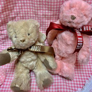 ピンクハウス(PINK HOUSE)のベビーピンクハウスペン入れ付きクマ(ぬいぐるみ/人形)