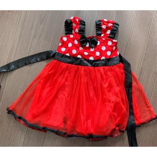 ディズニー(Disney)のミニーちゃん ワンピース ドレス 90cm(ワンピース)
