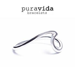 puravida プラヴィダ SILVER WAVE RING シルバーリング(リング(指輪))