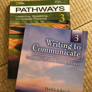 pathways3 writing to communicate セット(語学/参考書)