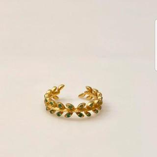 アルティーダウード K18 エメラルドリング(リング(指輪))