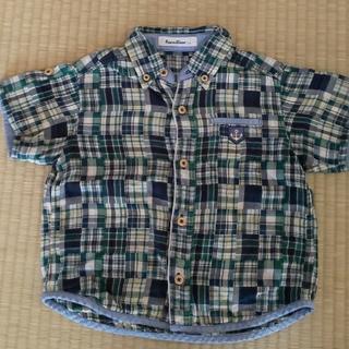 familiar - ファミリア 半袖シャツ 110 グリーン