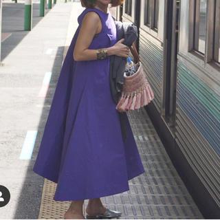 Drawer - frayid完売パープルフレアロングスカート 紫