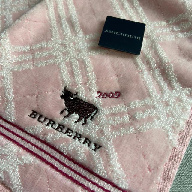 BURBERRY(バーバリー)のバーバリータオルハンカチ新品未使用タグ付き レディースのファッション小物(ハンカチ)の商品写真
