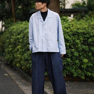SUNSEA - yoke 19ss  wide shirt blouson