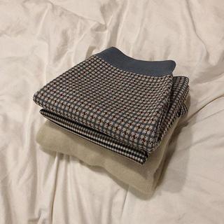 papermoon チェック柄 デザインスカート