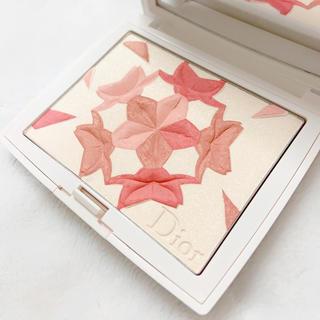 Dior - 2回使用 フェイスカラー スノーブラッシュ&ブルームパウダー