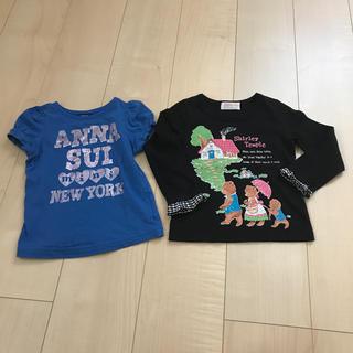 アナスイミニ(ANNA SUI mini)のANNA SUI mini & シャーリーテンプル  カットソー(Tシャツ/カットソー)