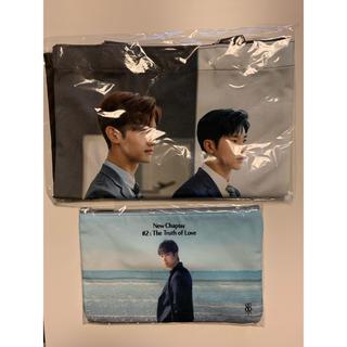 東方神起 - 東方神起 韓国 SM公式 ポーチ&新羅免税店トートバッグセット (ユノ)