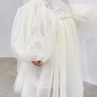 petit main - チュールワンピース 韓国子供服