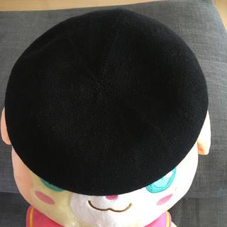 アーバンリサーチ(URBAN RESEARCH)のアーバンリサーチ サマーベレー帽 ブラック 黒(ハンチング/ベレー帽)