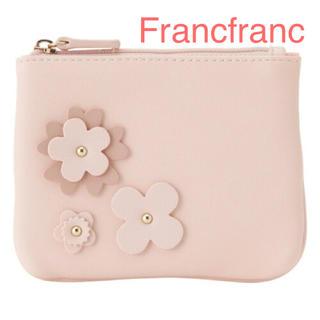 Francfranc - Francfranc フラワーモチーフ ティッシュポーチ 新品❣️