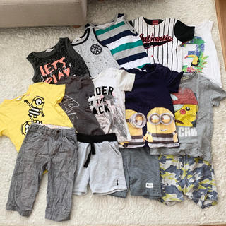 ザラ(ZARA)の男の子 子供服 まとめ売り Tシャツ タンクトップ ズボン パンツ 14点セット(Tシャツ/カットソー)