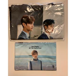 東方神起 - 東方神起 韓国公式ポーチ&新羅免税店トートバッグセット(チャンミン)