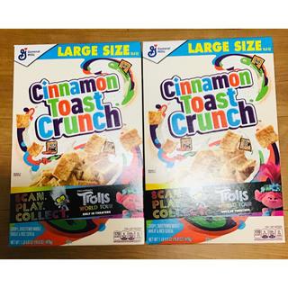 コストコ(コストコ)の2箱 シナモントーストクランチ Cinnamon Toast  Crunch(菓子/デザート)