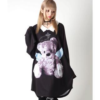 ミルクボーイ(MILKBOY)のTRAVAS TOKYO  天使と悪魔 BIG   L/S Tee (Tシャツ/カットソー(七分/長袖))