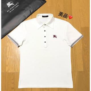 バーバリー(BURBERRY)の美品 バーバリーブラックレーベル ポロシャツ2(ポロシャツ)