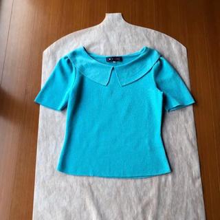M'S GRACY - 美品♡ エムズグレイシー 襟付き トップス 衿付き 38