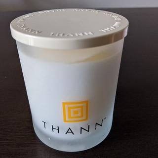 タン(THANN)の【新品】THANN アロマティックキャンドル ホワイトブーケ(キャンドル)