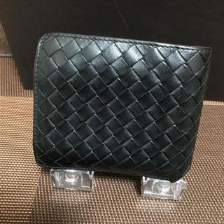 Bottega Veneta - 希少カラー!BOTTEGA VENETA 二つ折り財布 キルトブラック 正規品