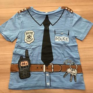 H&M - 警察 ポリス なりきり Tシャツ 半袖 キッズ 110 4Y H&M