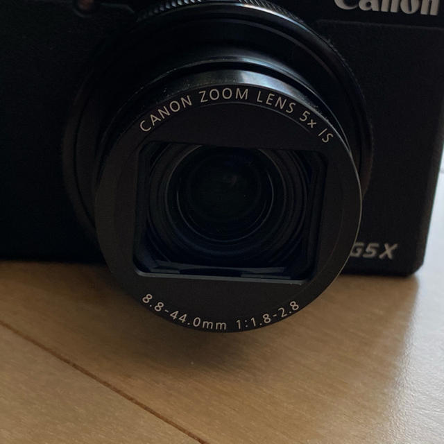 Canon(キヤノン)のCanon PowerShot G5X mark2 スマホ/家電/カメラのカメラ(コンパクトデジタルカメラ)の商品写真