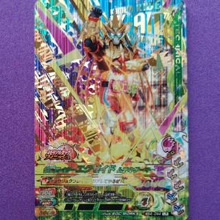 カメンライダーバトルガンバライド(仮面ライダーバトル ガンバライド)のBS4弾LR仮面ライダーエグゼイド ムテキゲーマー(その他)