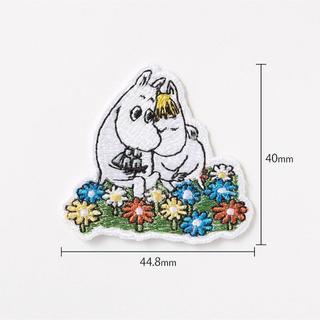 ユニクロ(UNIQLO)のムーミンとフローレン✖︎ユニクロ  刺繍ワッペン(各種パーツ)