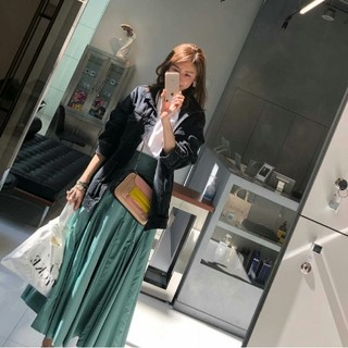 FRAY I.D - ☆モデル美香さん着用☆フレイアイディー/ランダムマチタフタスカート【MNT】新品