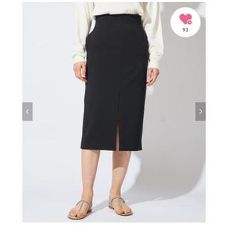 IENA - whim gazette フロントスリットタイトスカート