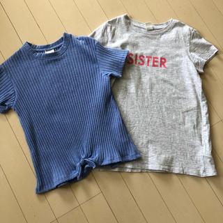 ザラ(ZARA)のTシャツ2枚セット 130センチくらい(Tシャツ/カットソー)