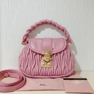 miumiu - miumiu♡マテラッセ レザー ハンドバッグ