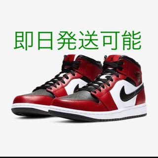 NIKE - air Jordan 1 mid Chicago black toe