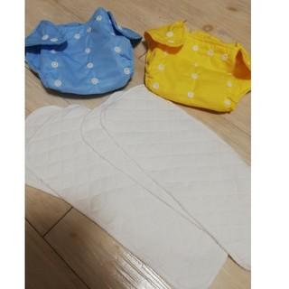 新品 オムツカバー 洗える 布おむつ 新生児調節 学習パンツ 防水 3段階S〜L(ベビーおむつカバー)