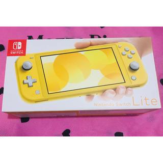 任天堂 - 新品未開封!Nintendo Switch Lite イエロー 任天堂