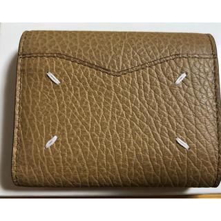 Maison Martin Margiela - マルジェラ ミニ財布 キャメル 新品未使用