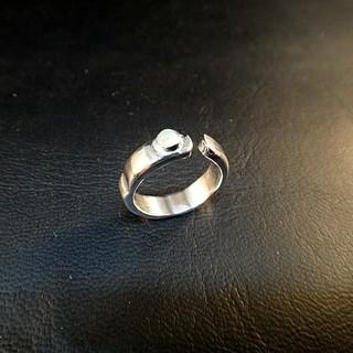 ムーンストーン 凸凹 リング  Silver925(リング(指輪))