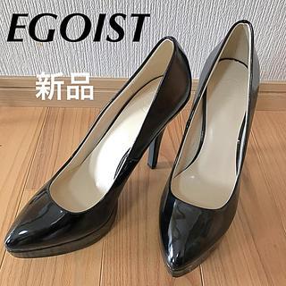 エゴイスト(EGOIST)のEGOIST パンプス ハイヒール ブラック Lサイズ ピンヒール(ハイヒール/パンプス)