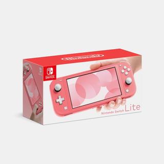 Nintendo Switch - 任天堂 switch lite スイッチ ライト コーラル 新品未開封