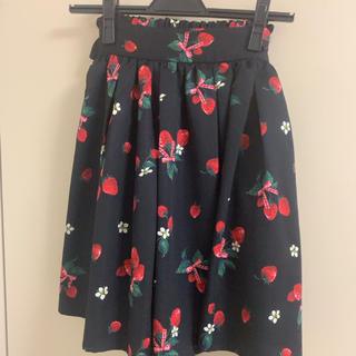 Ank Rouge - アンクルージュ  いちご柄スカート