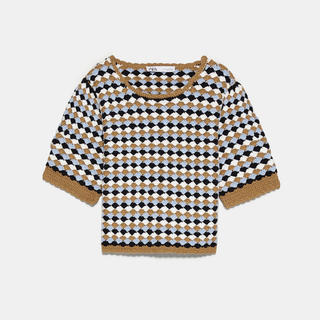 ZARA - ZARAクロシェットセーター