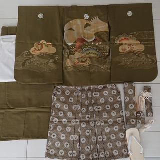 七五三 5歳男の子用袴(和服/着物)