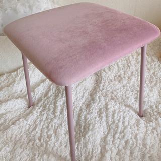 ザラホーム(ZARA HOME)の○pink chair○(スツール)